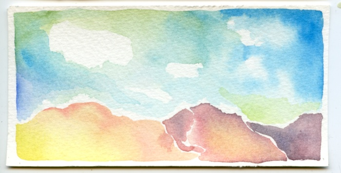 mountain scene 5